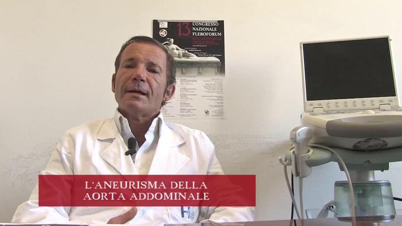 L' ANEURISMA DELL' AORTA ADDOMINALE – PROF. MASSIMO DANESE