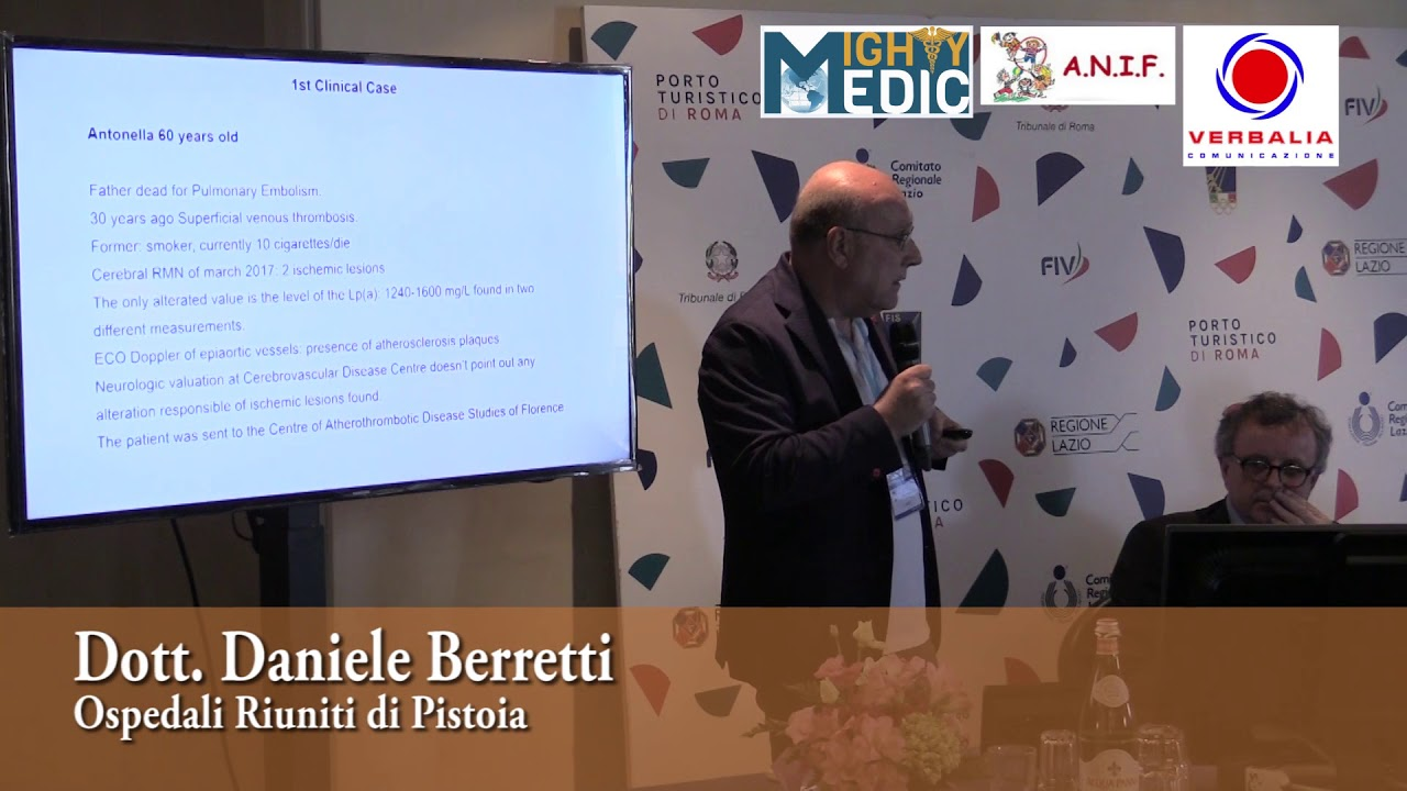 13th LIPID CLUB AND THERAPEUTIC APHERESIS 2018 – Dott. Daniele Berretti